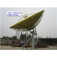 7.5m motorized satellite TV Antenna