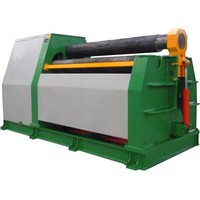 Four rollers plate rolling machine with prebending function