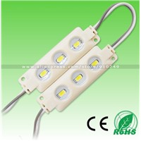 Injection DC12V waterproof led module light smd5630 3LED Samsung LED chip 1.5W cold white warm white