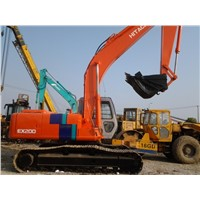 Used Hitachi EX200 excavator