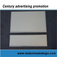 Recessed led light panel