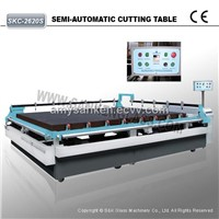 SKC-3725S China Manual Cutting Machine Glass Cutting Table