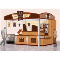 exhibition display kiosk retail shop exhibition display stand oem odm service supply