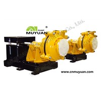 China Muyuan Heavy Duty Cenrifugal Slurry Pump
