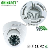 Fixed lens Color Plastic infrared cctv security dome camera (PST-DC302CL)