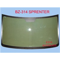 Auto glass front windshield and rear windscreen