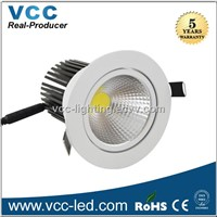 Dimmable 6 inch COB 12W Led Downlight