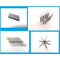 Custom Tungsten Carbide Coil Winding Nozzle (wire guide needles)