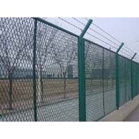 Expanded metal strong fence