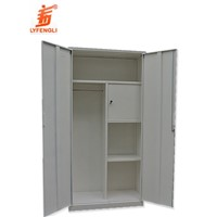 Steel Bedroom Clothes Wardrobe
