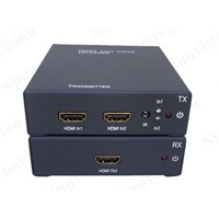 HDMI Extender over Coax up to 120M(HDMI 2in/1out)