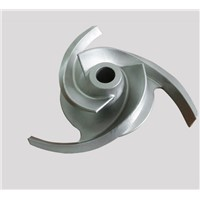 open impeller, stainless steel investment castings, pump parts