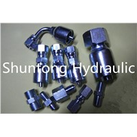 hydraulic hose fittins adapter pipe fitting
