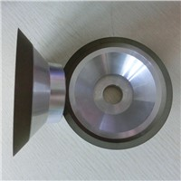 Resin bond diamond cutting wheels without steel plate