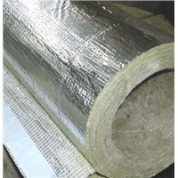 High quality Rockwool pipe with aluminum foil