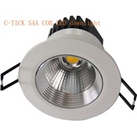 SAA 3W COB LED Downlights /COB LED Ceiling Lamp with CRI>80 LEDs