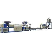 Two Stage Strand PE Granulation Line With Force Feeder