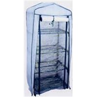 4 Tiers greenhouse with PVC cover