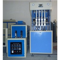 4 cavities PET semi auto blow molding machine