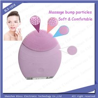 Bless BLS-1098 USB Electronic Deep Clean Silicone Soft Face Massager