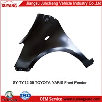 Car Replacement Parts Front Fender for Toyota Yaris
