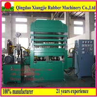 Hydraulic rubber hot press for rubber mat,rubber tile