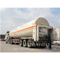 LNG Cryogenic Liquid Lorry Tanker