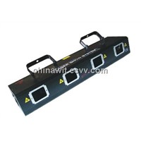 4 head Red Green disco stage laser light