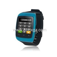 Smart bluetooth watchSync SMS Sync Facebook,Twiter,email and calendar