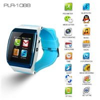 2014 New Latest Touch Screen Android Hand Watch Mobile Phone With Mp3 And Bluetooth