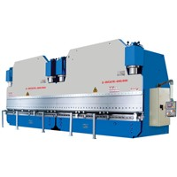 2-WC67K Series dual-machine Linked Hydraulic CNC Press Plate Bending Machine