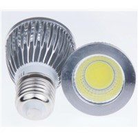 High lumen E27 5W COB led spotlight