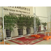 Temporary Fencing 2100mm x 2400mm Width 42 Microns Hot Dipped Galvanized, NZ Standard Temp Fencing