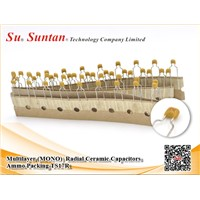 Suntan Multilayer (MONO)  Radial Ceramic Capacitors Ammo Packing TS17R
