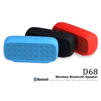plastic wireless bluetooth speaker for smart phone / laptop