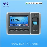 4.3 Color TFT Touch Screen Fingerprint Time Attendance Machine/No Need Software Attendance