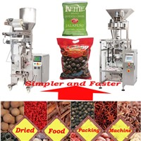 Kernels/pista/strawberry slice/banana pulp packaging machine bag-wrapping/packing machinery