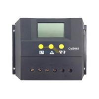 CM50 50A Solar Charge Controller with LCD display 48V Solar Regulators