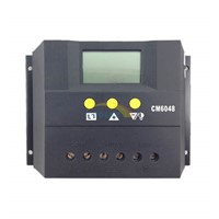 CM60 60A Solar Charge Controller with LCD display light and timer control