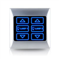 Dimmer switch for touch control panel
