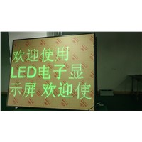 P7.62 single green led notice screen