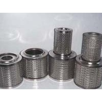 Filter mesh use perforated metal