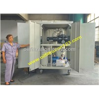 Two stage vacuum Transformer oil filtration  machine,Waste Oil Recovery System