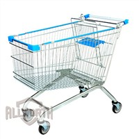 European Style Supermarket Shopping Cart Trolley
