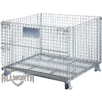 General Folding Wire Mesh Container Storage Cage