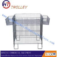 Metal Storage Container Wire Storage Bins For Promotion