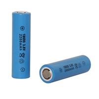 18650 Lithium-ion Battery with 2000-2600mAh