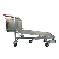 Five Castor Warehouse Cargo Trolley, Logostic Trolley