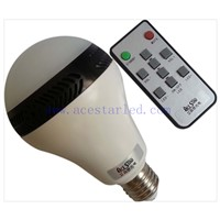 Patented product 10w led music light dimming bulb warm white/pure white playbulb