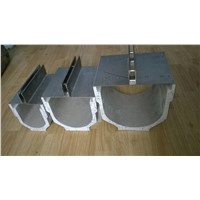 water drain linear slot cover polymer concrete drainage channel